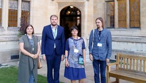 XVIII Международная патристическая конференция в Оксфорде прошла с участием сотрудников Лаборатории