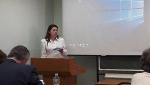 Ирина Борщ выступила на конференции в Университете правосудия