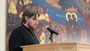 Заведующий лабораторией выступил на конференции в Николо-Угрешской семинарии