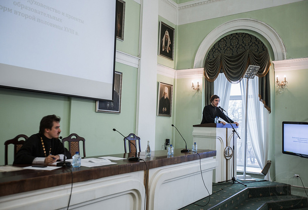 Сотрудники ЛИЦИ выступили на конференции в Санкт-Петербургской духовной академии