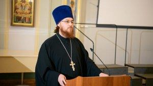 Речь заведующего лабораторией иерея Павла Ермилова на актовом дне ПСТГУ
